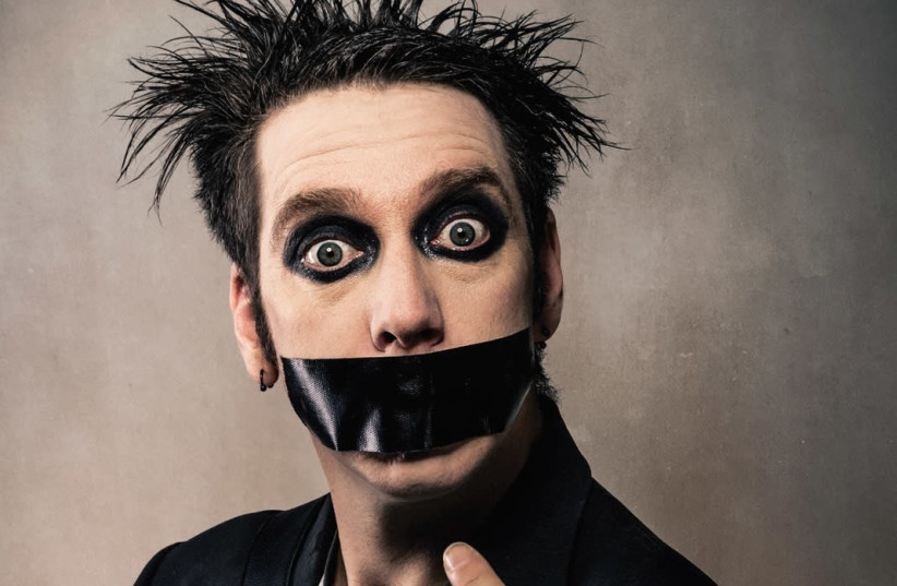 TALK IS cheap: New Zealand comedic mime Tape Face. (photo credit: A.D. ZYNE)