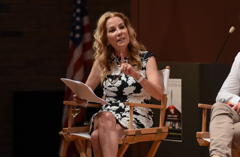 Kathie Lee Gifford (photo credit: NOAM GALAI / GETTY IMAGES NORTH AMERICA / AFP)