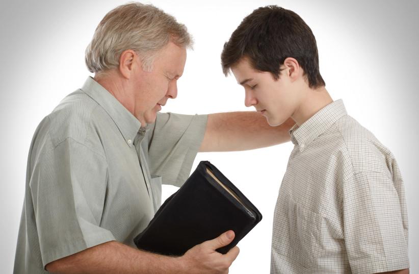Preaching (illustratiion) (photo credit: INGIMAGE)