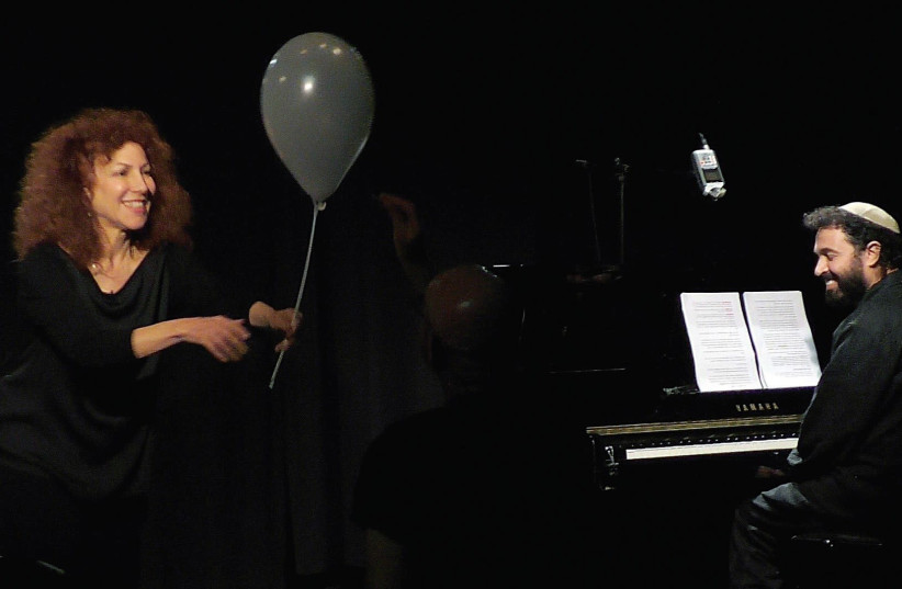 THE SPELLBINDING Daniella Michaeli in 'Making God Laugh.' (photo credit: COURTESY RAHEL VILNER)