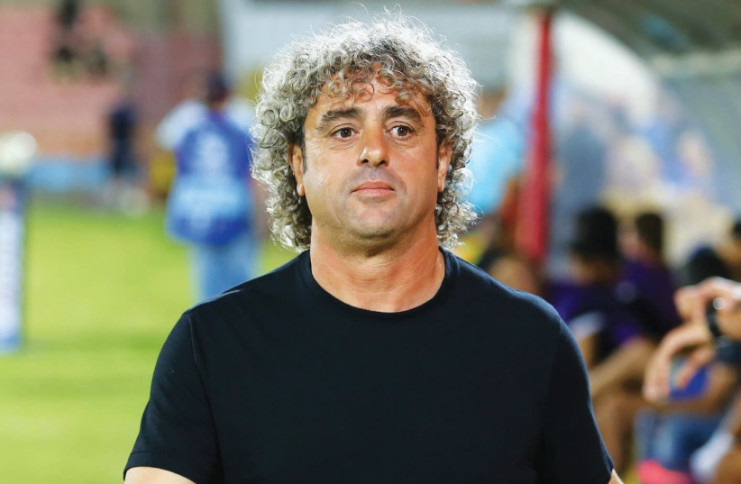 Reuven Atar's days as the coach of Ashdod SC look to be numbered, with the team picking up just one of a possible 15 points in the first five matches of the Premier League season. (photo credit: LIRON MOLDOVAN/BSL)