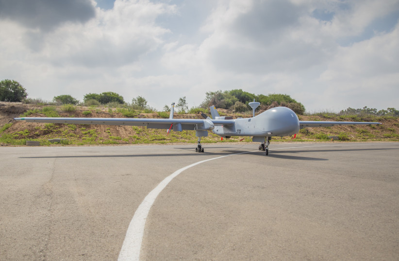 Israel's Eitan Drone (photo credit: IDF SPOKESPERSON'S UNIT)