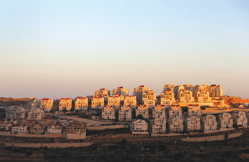 EFRAT AT sunset. 'The positions expressed by those who spoke at the ceremony in Gush Etzion were way out of any national consensus. (photo credit: REUTERS)