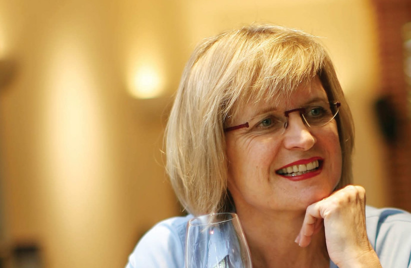 MASTER OF WINE Jancis Robinson has won every award under the sun, but maintains the ability to look beginners in the eye and come down to their level. (photo credit: Courtesy)