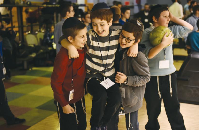 Des enfants des émissaires Habad (photo credit: SHMUEL AMIT)