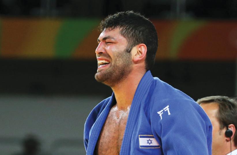 Israeli judoka Ori Sasson (photo credit: REUTERS)