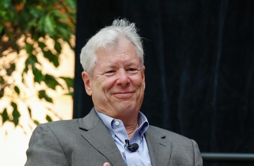 US economist Richard Thaler. (photo credit: REUTERS)