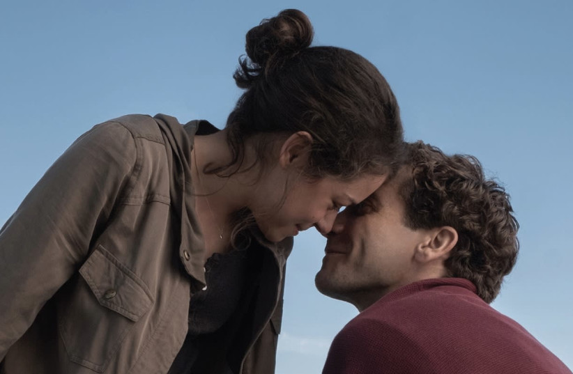 Jake Gyllenhaal performs on screen in 'Stronger'. (photo credit: TNS)