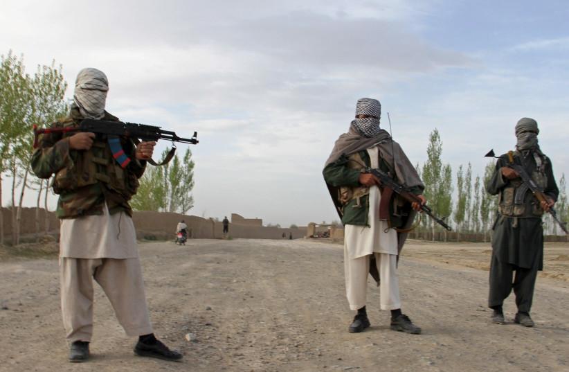 Members of the Taliban in Pakistan (photo credit: STRINGER/ REUTERS)
