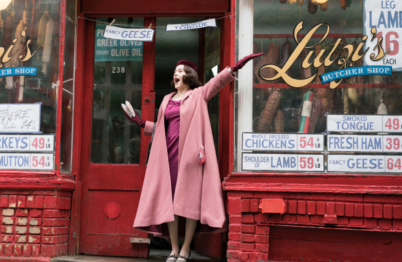 Rachel Brosnahan stars in the new Amazon Prime Video series 'The Marvelous Mrs. Maisel.' (photo credit: AMAZON STUDIOS)