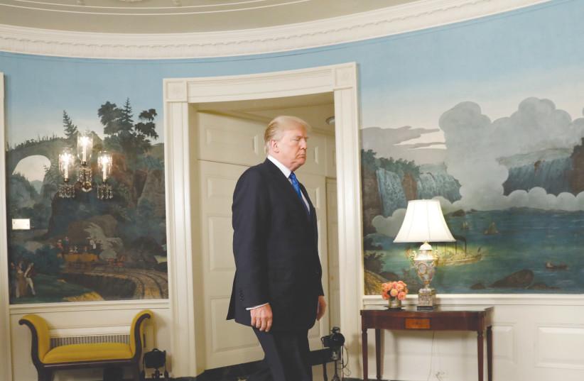 US PRESIDENT Donald Trump has decertified the Iran deal. (photo credit: REUTERS)