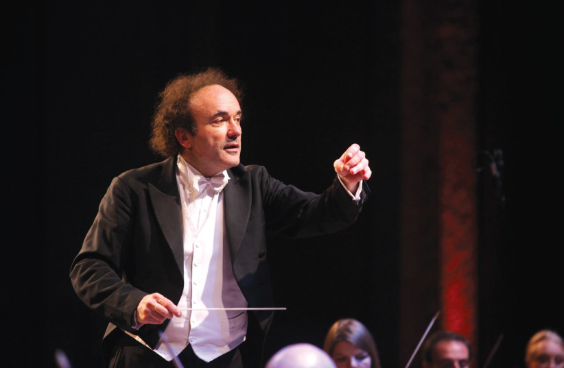 MAESTRO Frederic Chaslin believes that Israel's capital deserves a symphony hall of its own.  (photo credit: SASSON TIRAM)