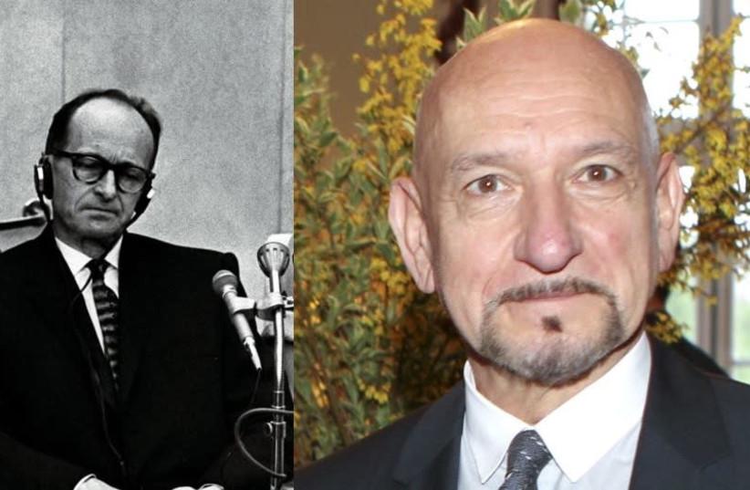 Academy Award winner Ben Kingsley will play Adolf Eichmann in a new film. (photo credit: REUTERS/ WIKIMEDIA)