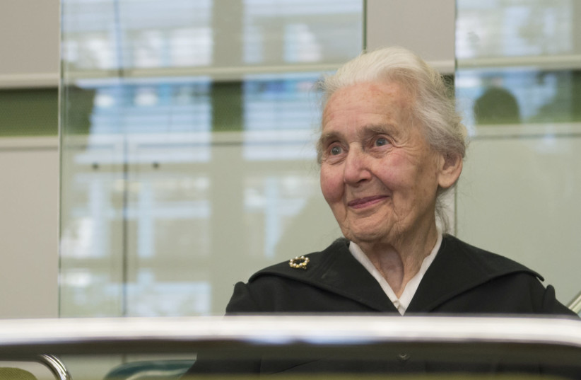 Ursula Haverbeck infamously known as 'Nazi grandma.' (photo credit: REUTERS)