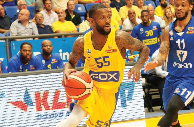 Maccabi Tel Aviv guard Pierre Jackson looks to build on last week's sensational Euroleague debut for the team when the yellow-and-blue hosts Baskonia Vitoria in continental action tonight at Yad Eliyahu Arena. (photo credit: ADI AVISHAI)