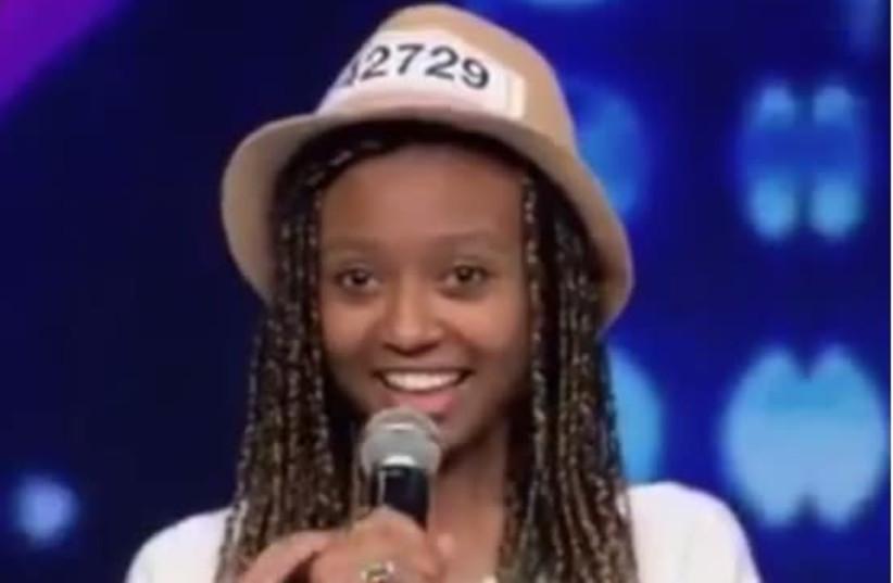17-year-old Israeli Eden from Jerusalem blows away judges on Israel's X-Factor. (photo credit: screenshot)