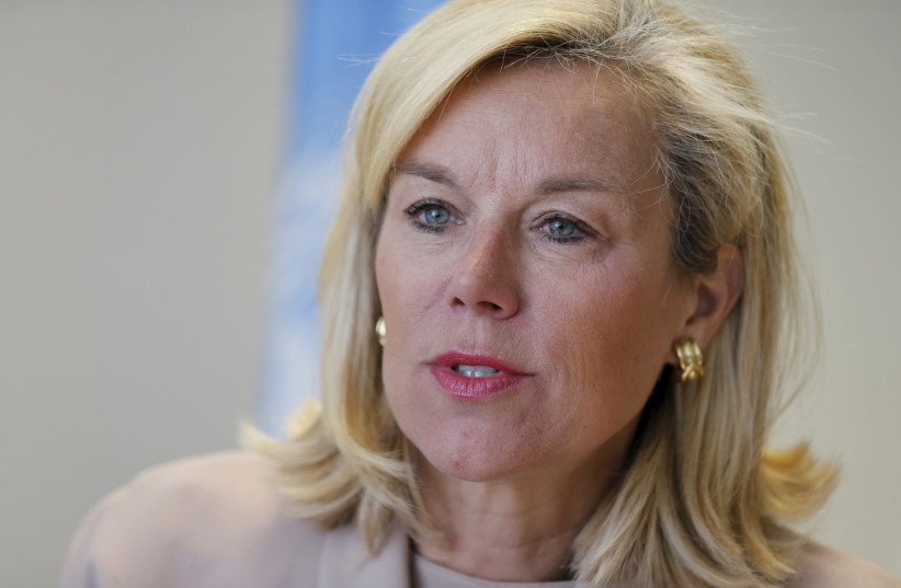Sigrid Kaag, Dutch activist for Palestinian rights and nominee for the second-most powerful Cabinet post in the Dutch Foreign Ministry. (photo credit: REUTERS)