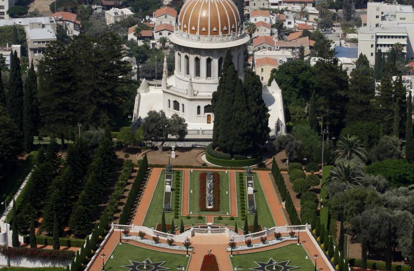The Bahai gardens, Haifa (photo credit: BAZ RATNER/REUTERS)