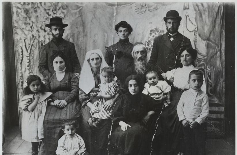 Les ancêtres de la famille Dayan en Ukraine (photo credit: PR)