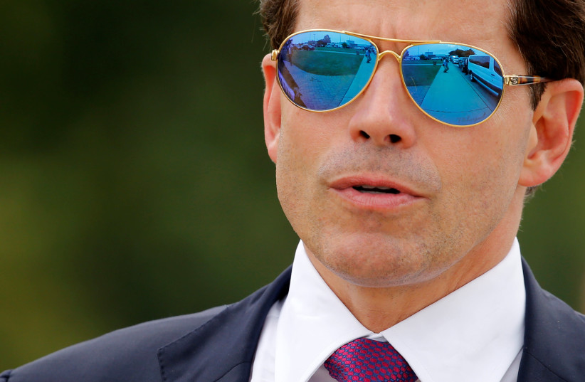 Former White House Communications Director Anthony Scaramucci (photo credit: JONATHAN ERNST / REUTERS)