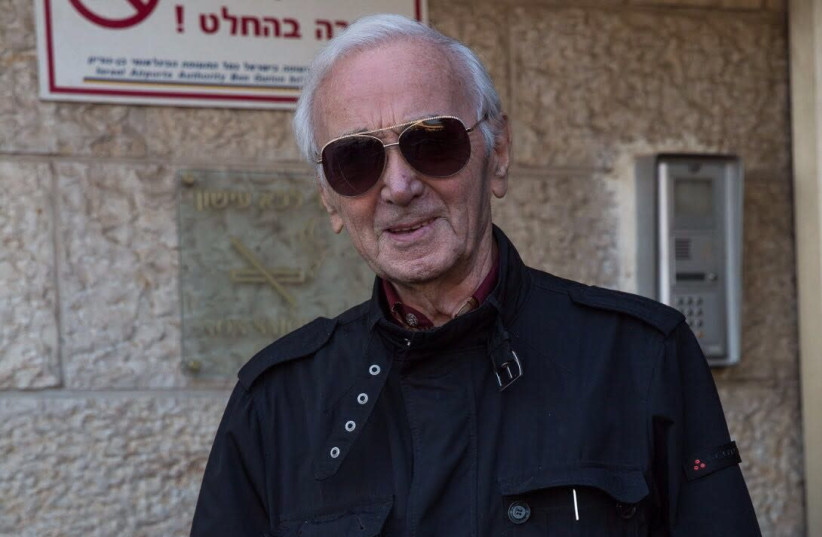 Charles Aznavour (photo credit: GAY FRIBS)