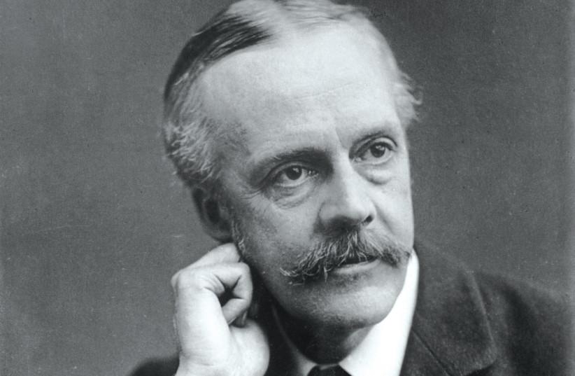 Arthur James Balfour (photo credit: PUBLIC DOMAIN)