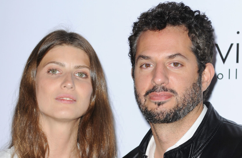 Guy Oseary and wife Michelle Alves (photo credit: FRAZER HARRISON / GETTY IMAGES NORTH AMERICA / AFP)