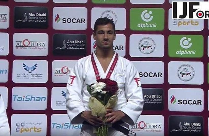 Israeli judo fighter Tal Flicker. (photo credit: COURTESY/IJF WEBSITE)