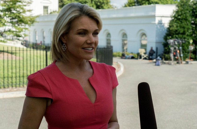 Heather Nauert (photo credit: WHITE HOUSE / WIKIMEDIA COMMONS)
