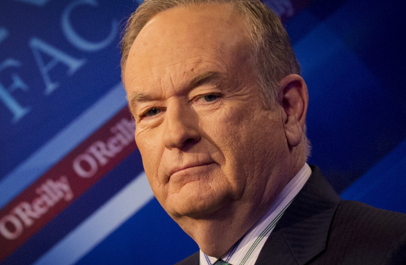 Former Fox News host Bill O'Reilly (photo credit: REUTERS/BRENDAN MCDERMID)