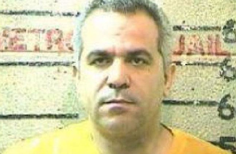 Mohammed Agbareia in 2006 (photo credit: MOBILE COUNTY ALABAMA SHERIFF'S OFFICE / SUN SENTINEL / TRIBUNE NEWS SERVICE)