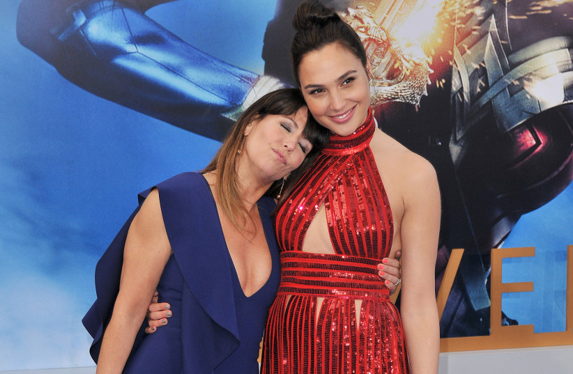 """Director Patty Jenkins and Gal Gadot arrive at the """"Wonder Woman"""" Los Angeles Premiere held at The Pantages Theatre on Thursday, May 25, 2017 in Hollywood, Calif. (photo credit: STHANLEE B. MIRADOR/SIPA USA/TNS)"""