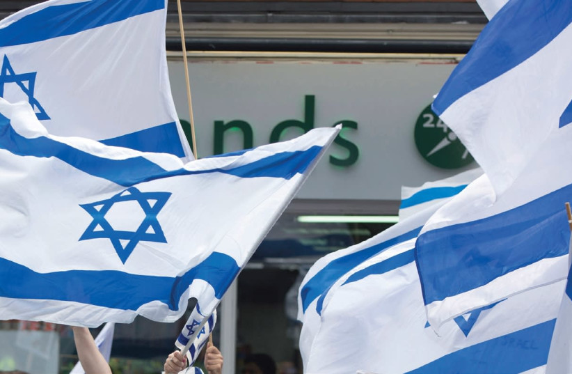 'The Balfour declarations, Wilson's Fourteen Points, and the League of Nations mandate legitimized the quest for nationhood of all nations with a self-conscious identity.' (photo credit: REUTERS)