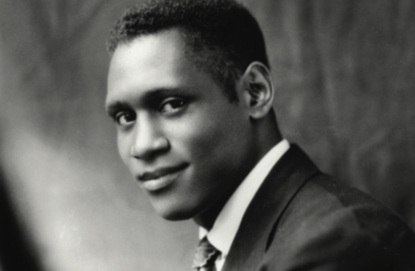 An artist and a citizen: (A young) Paul Robeson.  (photo credit: UNITED IN MUSIC INC.)