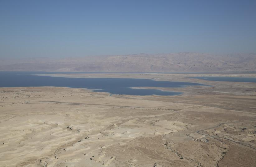 The Dead Sea coast (photo credit: ARIK BAREL)