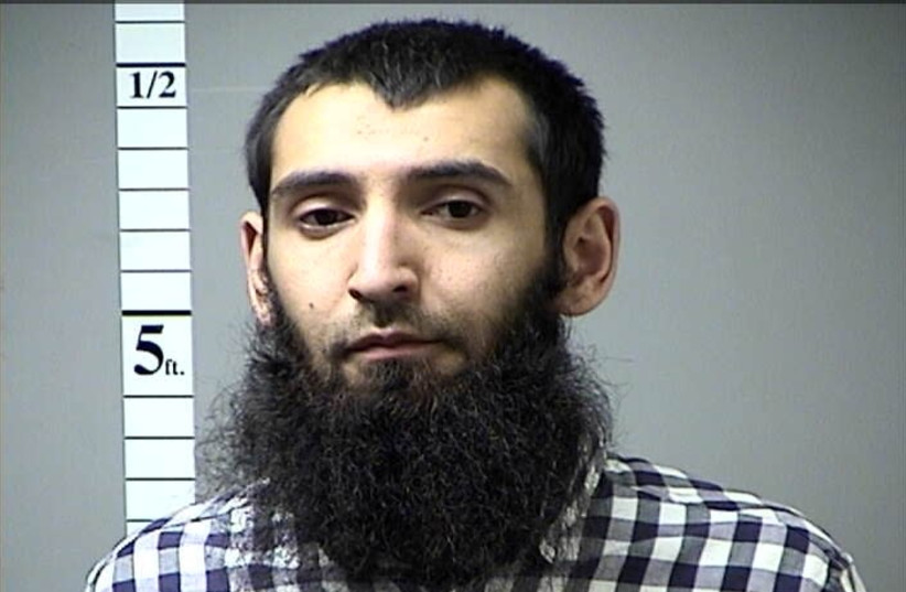 New York City car ramming suspect Sayfullo Saipov (photo credit: HANDOUT/REUTERS)
