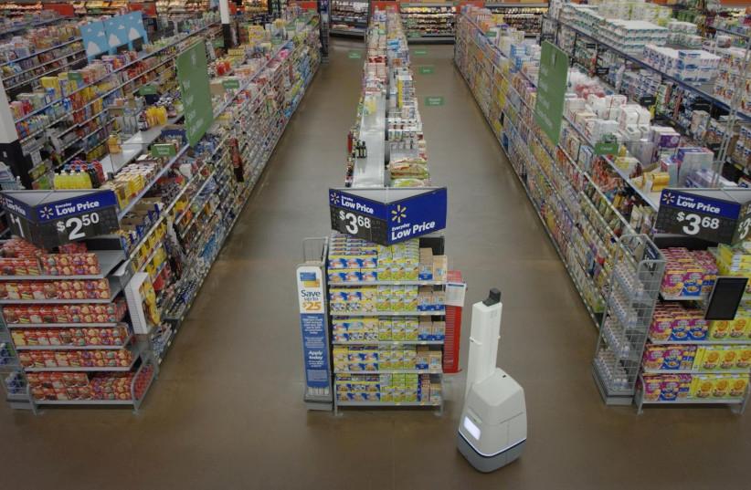 Walmart store.  (photo credit: REUTERS)