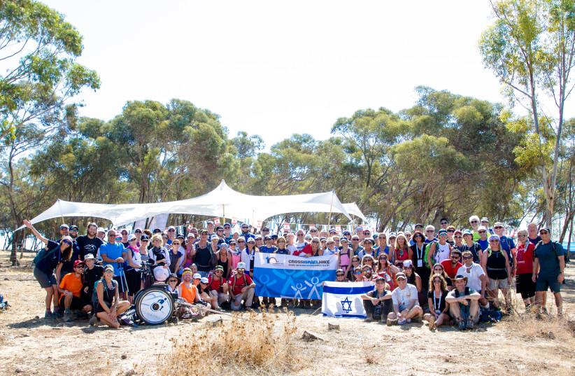Canadians hike northern Israel alongside terror victims, organized by Israeli NGO OneFamily. (photo credit: JONNI SUPER)