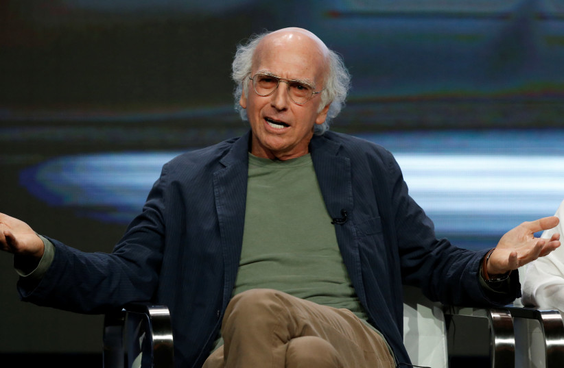 Comedian Larry David (photo credit: MARIO ANZUONI/REUTERS)