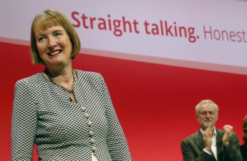 Labour MP Harriet Harman (photo credit: REUTERS/LUKE MACGREGOR)