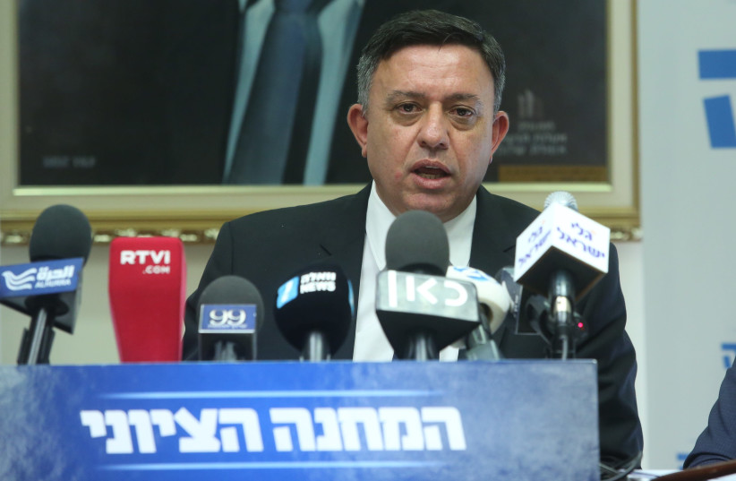 Labor party leader Avi Gabbay (photo credit: MARC ISRAEL SELLEM)