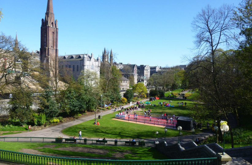 Union Terrace Gardens, Aberdeen, Scotland (photo credit: RAGAZZI99 / WIKIMEDIA COMMONS)