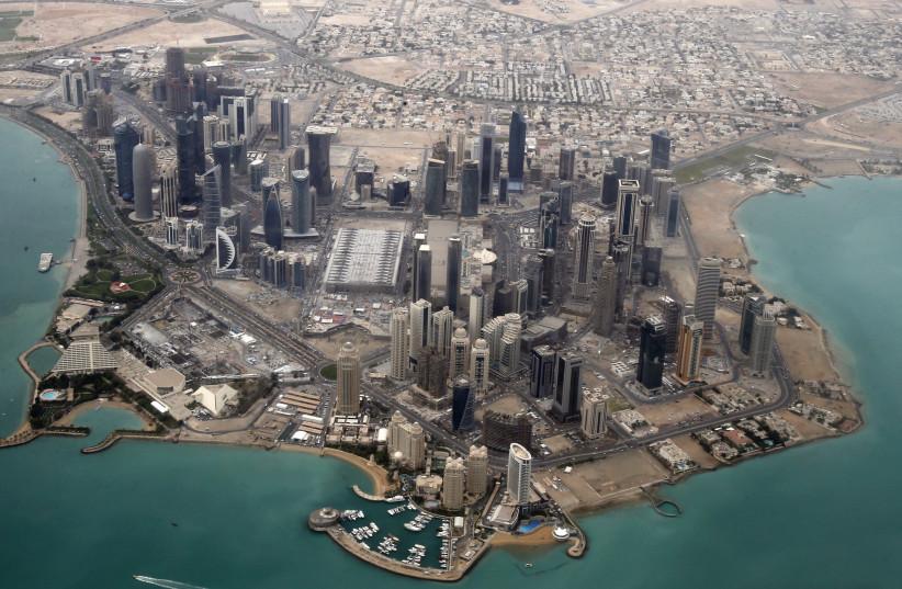 Doha, Qatar (photo credit: FADI AL-ASSAD/ REUTERS)