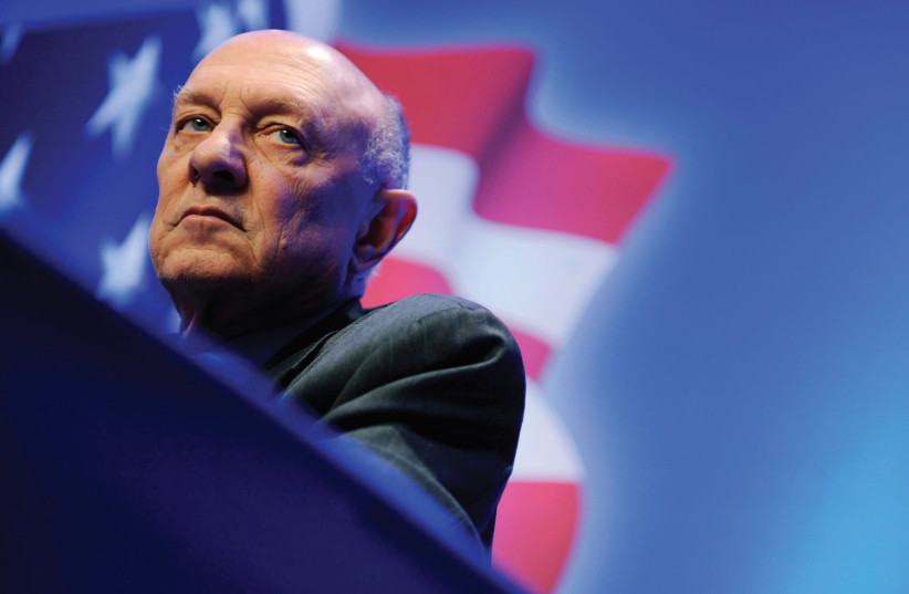 EX-CIA CHIEF James Woolsey (photo credit: REUTERS)