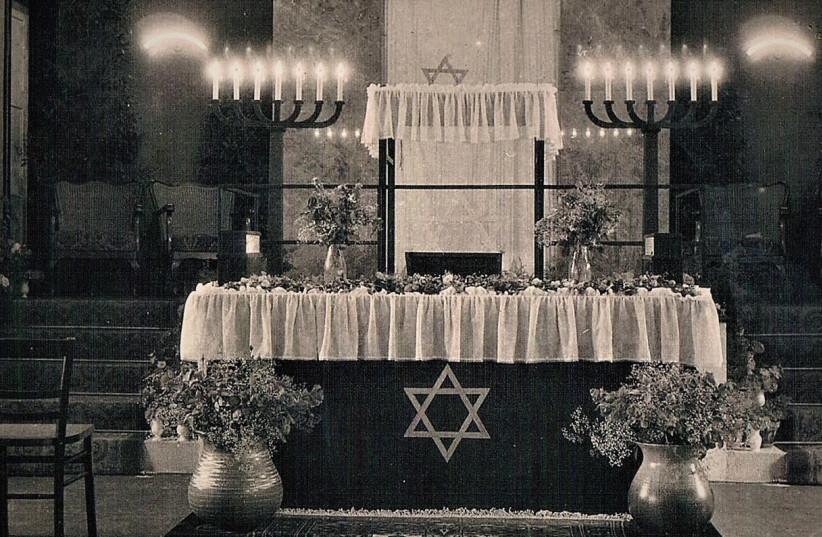 THE INTERIOR of Bad Nauheim's synagogue. (photo credit: Courtesy)