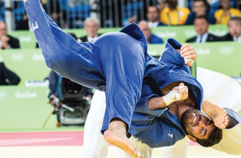 Israeli judoka Ori Sasson will compete in the Openweight World Championships tomorrow in Marrakesh, Morocco, after the issues preventing him from arriving in the Arab country were resolved yesterday. (photo credit: ASSAF KLIGER)