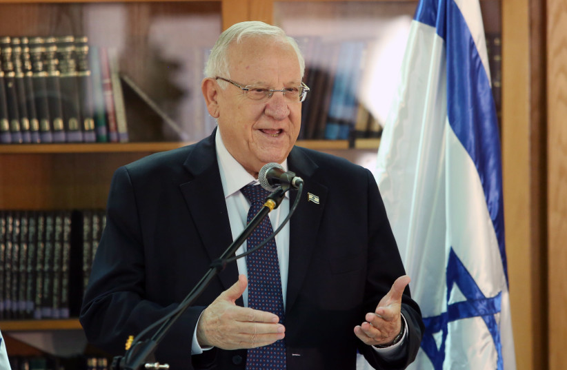 Reuven Rivlin (photo credit: MARC ISRAEL SELLEM/THE JERUSALEM POST)