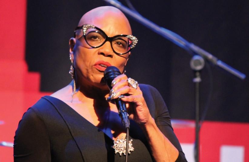 AMERICAN JAZZ singer Dee Dee Bridgewater. (photo credit: BARRY DAVIS)