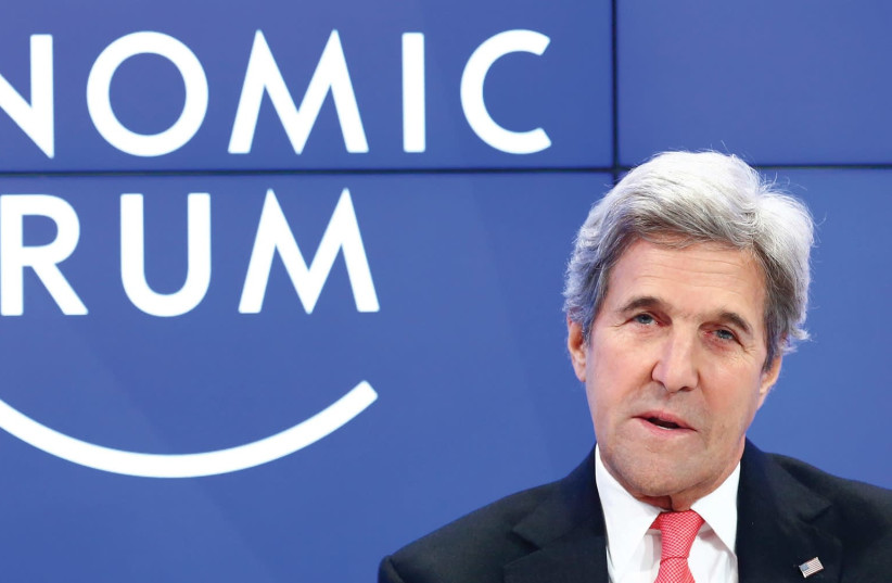 John Kerry still casts a giant shadow (photo credit: REUTERS)