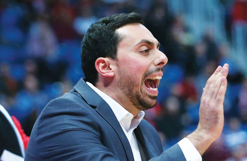 The appointment of Mody Maor as Hapoel Jerusalem's new head coach caught most experts by surprise, but it remains to be seen if he has indeed being handed the role on a permanent basis. (photo credit: UDI ZITIAT)
